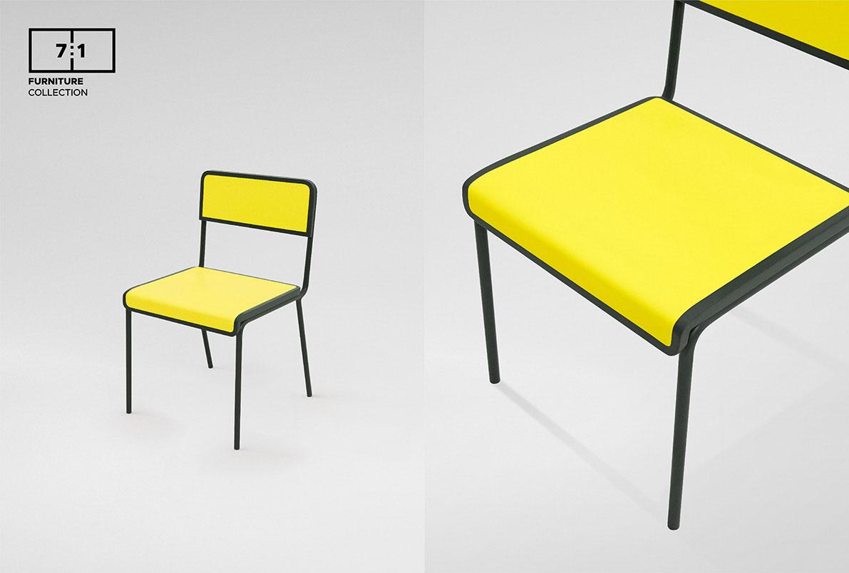 Bbdo Bangkok Designed A Line Of Furniture For The Visually