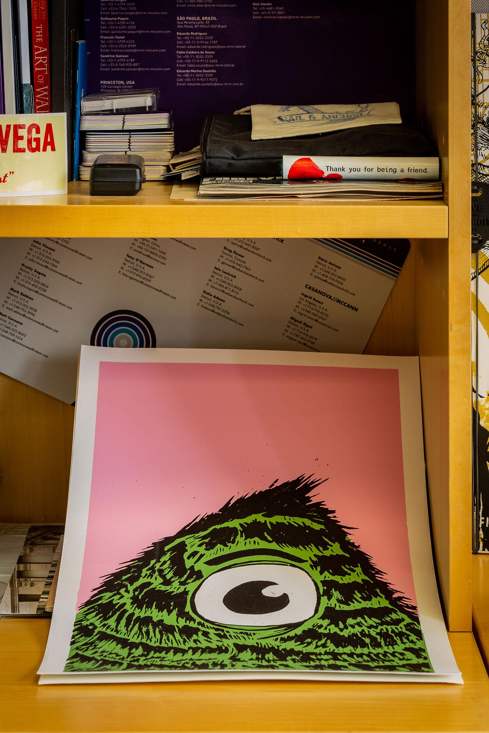 Inside Jeff Cruz's Office at MRM//McCann Detroit   Muse by Clio