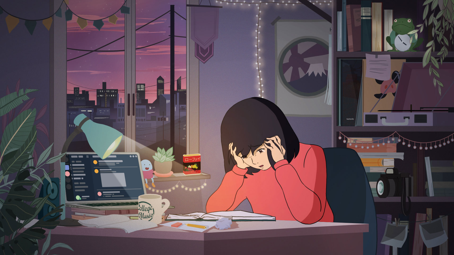 Why 'Study Girl,' Anime Star of an Infinitely Looping Video, Went Missing  This Week | Muse by Clio