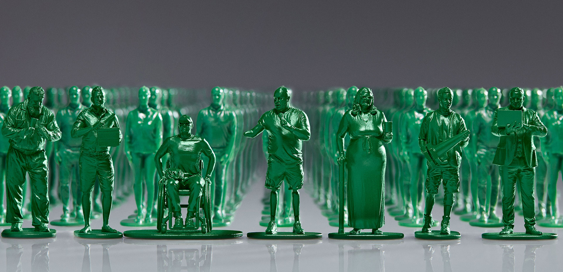 McCann Made 40,000 Toy Soldiers Based on Real Wounded Veterans