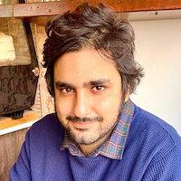 """Karim Yusuf, aka """"Kaz"""" headshot"""