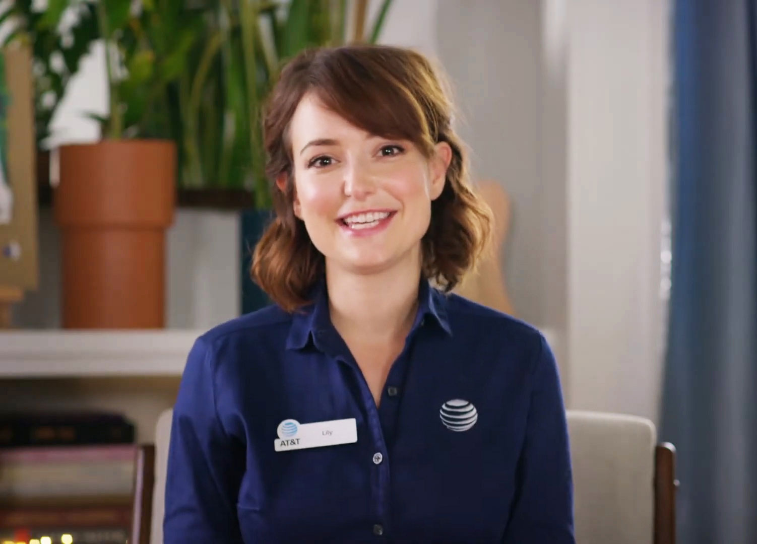 Lily Returns for AT&T, as Milana Vayntrub Shoots New Ads at Home ...