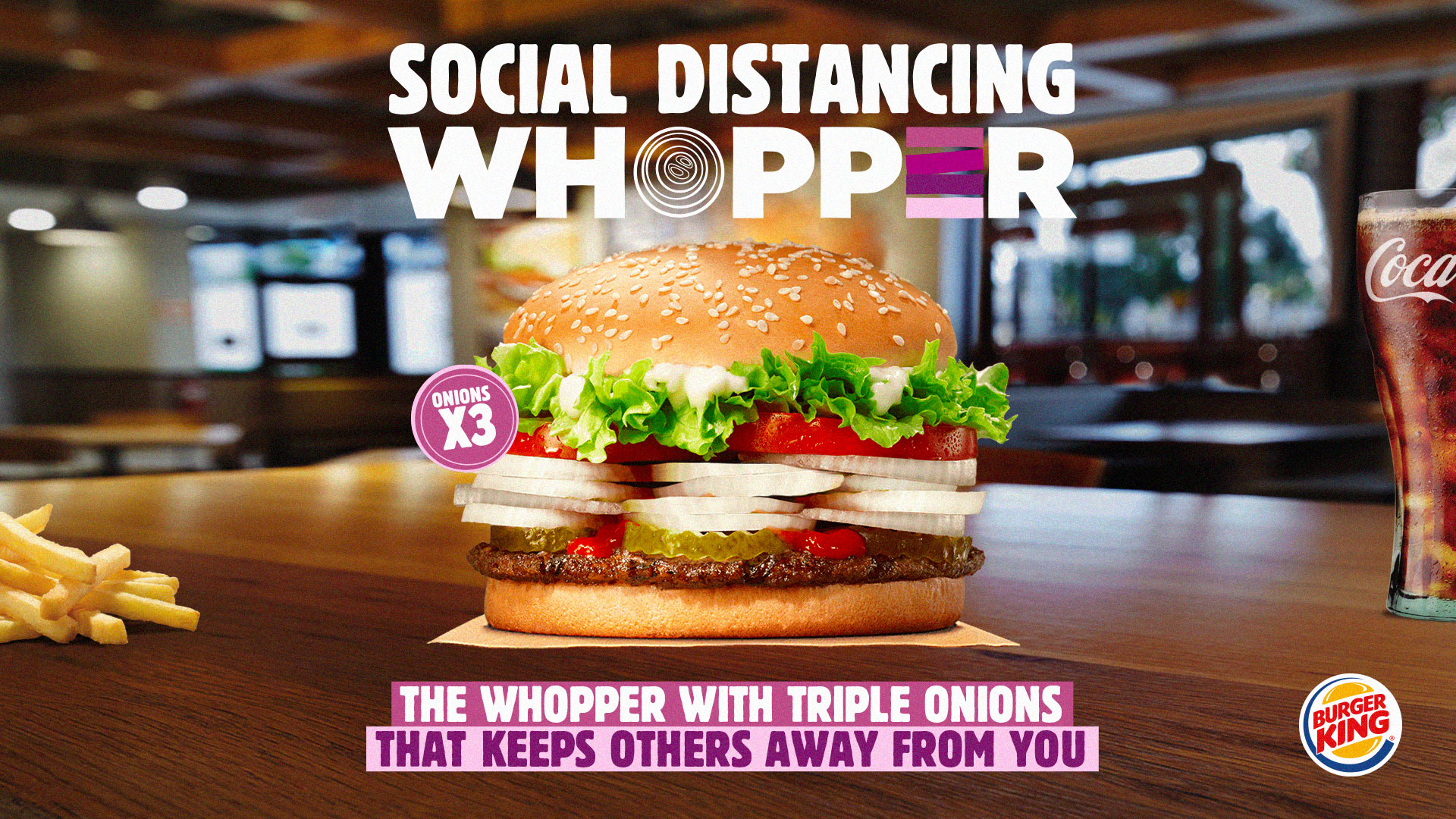 Burger King's 'Social Distancing Whopper' Gives You the Worst ...
