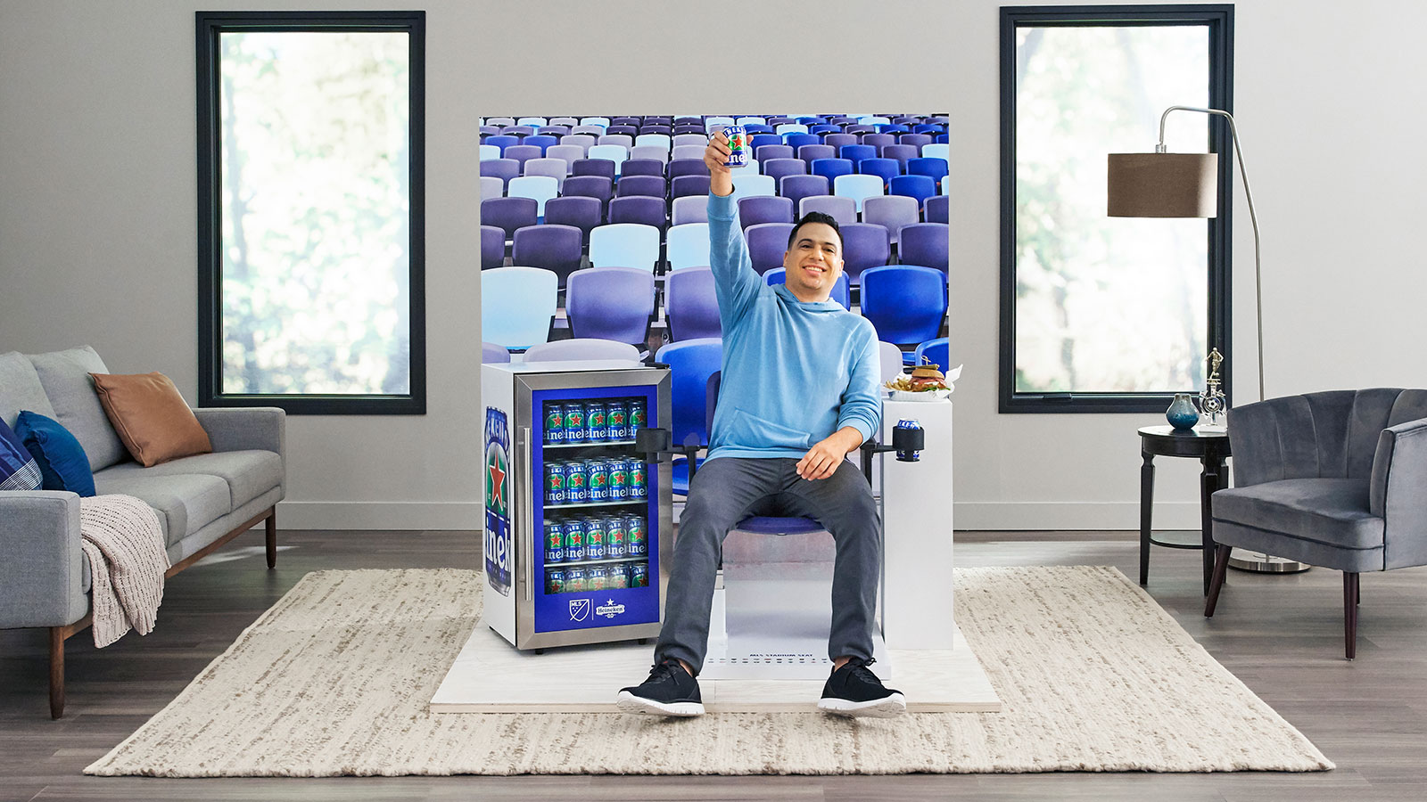 Heineken Sends Real Stadium Seats to MLS Fans Watching at Home | Muse by Clio
