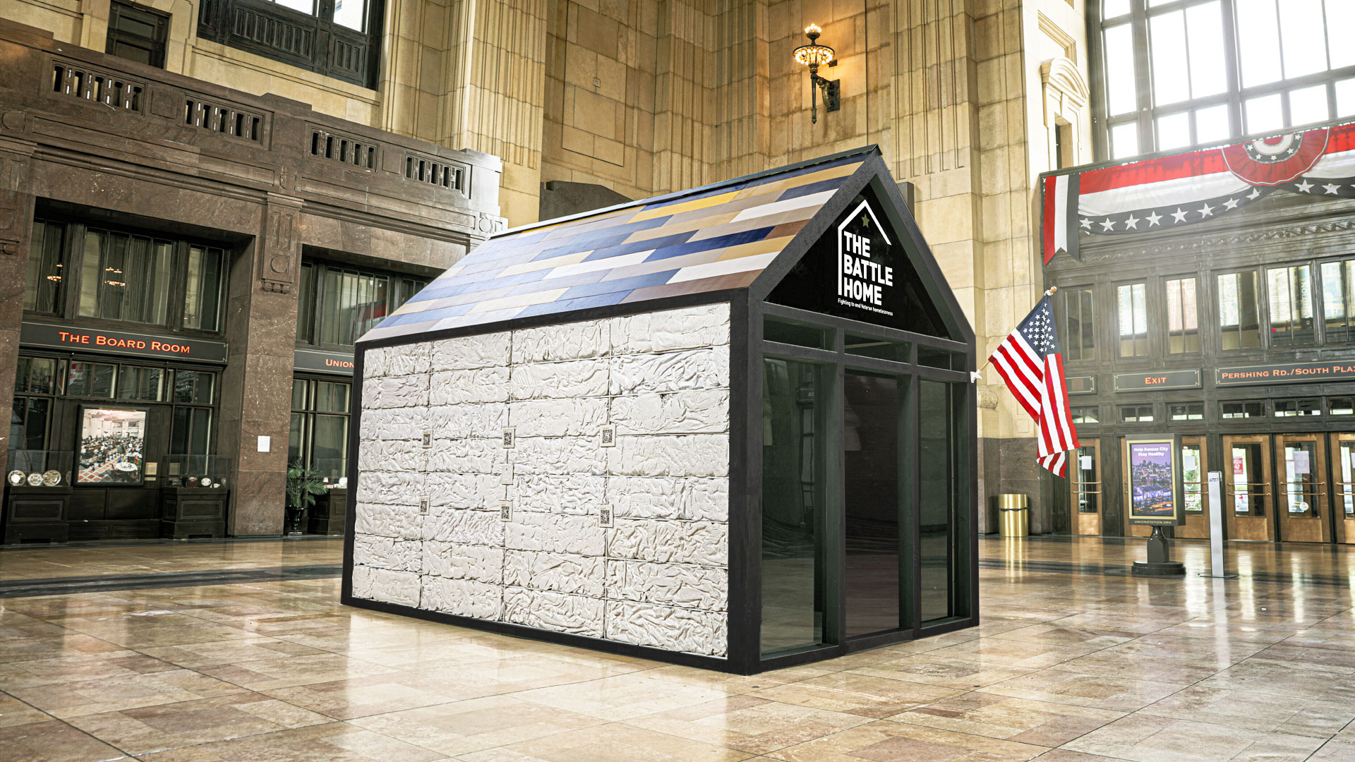 Havas Chicago Built a Tiny House Out of Sleeping Bags as Plea for Homeless Veterans | Muse by Clio