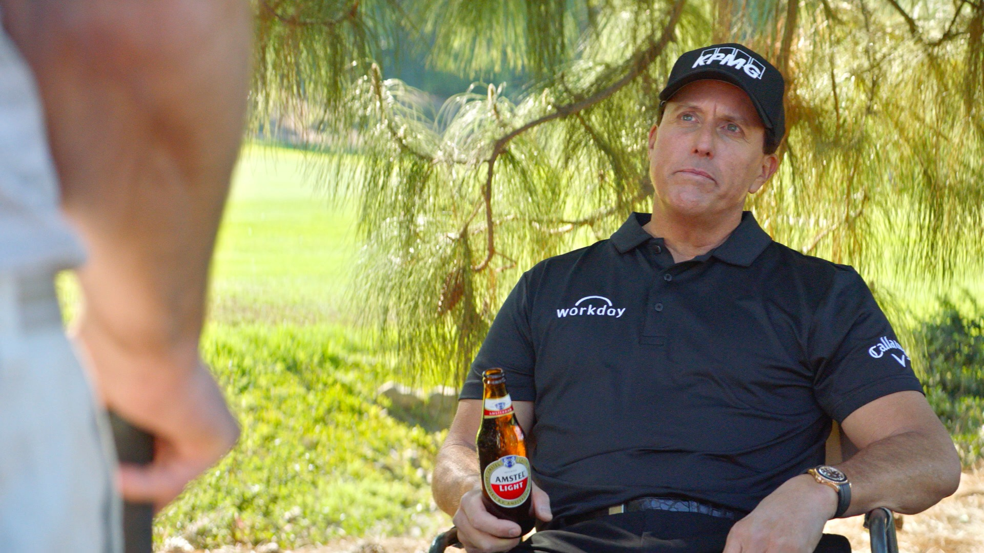 Phil Mickelson Tees Up Friendship Advice in Ads for Amstel Light | Muse by Clio