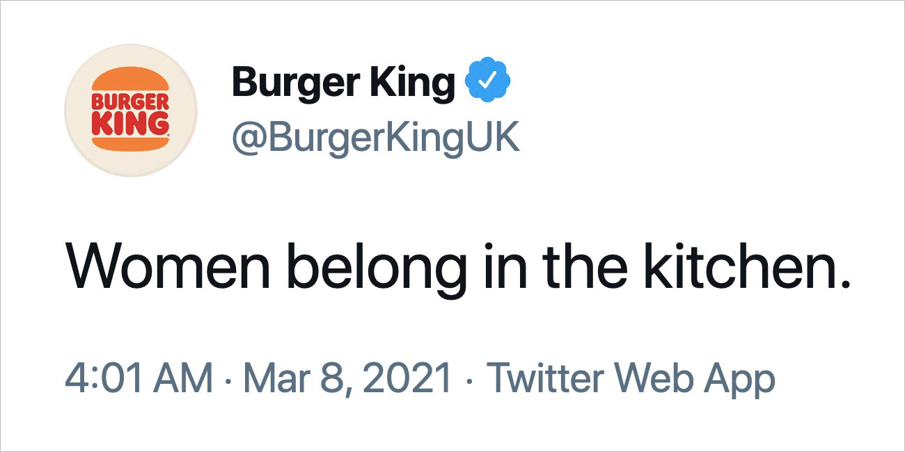 Bk Gets Burned For Tweeting That Women Belong In The Kitchen Muse By Clio