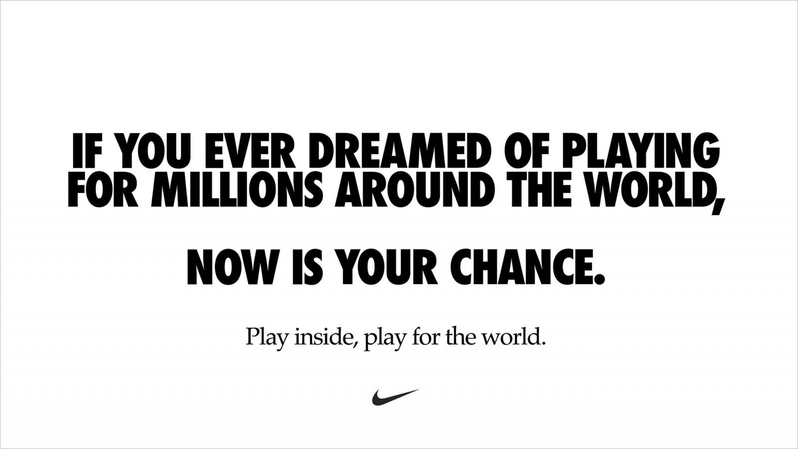 Iznenadni Silazak Posta Taljenje Nike Ad Text Creativelabor Org