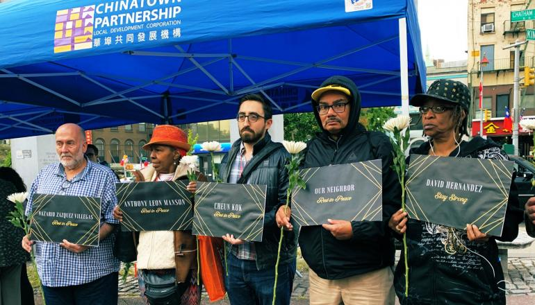 Photo courtesy of Coalition for the Homeless