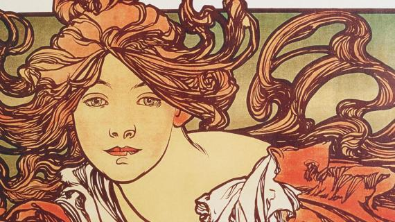 Cycles Perfecta by Alphonse Mucha (1902)