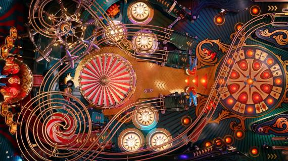 "The Mill's fully CGI ""Pinball"" spot for Sony Bravia"